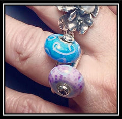 Trollbeads Change Ring with Trollstones
