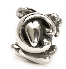 Load image into Gallery viewer, Letter Bead C, Silver