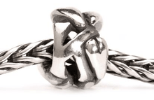 Load image into Gallery viewer, Letter Bead K, Silver