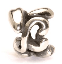 Load image into Gallery viewer, Letter Bead L, Silver