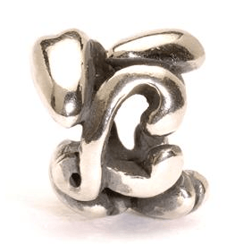 Letter Bead L, Silver