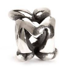 Load image into Gallery viewer, Letter Bead M, Silver