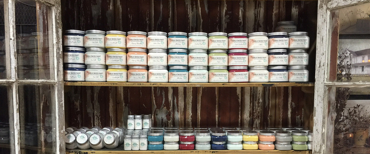 Vintage Storehouse Chalk Based Paint