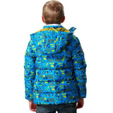 LEO&LILY Big Boys Down Padded Puffer Jacket with Hood LLB1759
