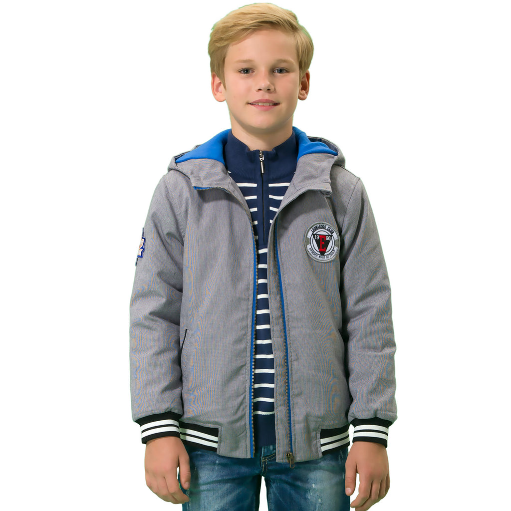LEO&LILY boys Casual Down Padded Puffer Jacket With Hood LLB1522
