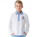LEO&LILY Boys Casual Long sleeve POLO Shirt T Shirts Undershirts LLB3519