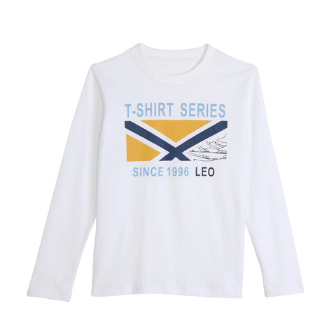 LEO&LILY  Boys Long Sleeve Casual Pullover T-Shirt Undershirt LLB3530