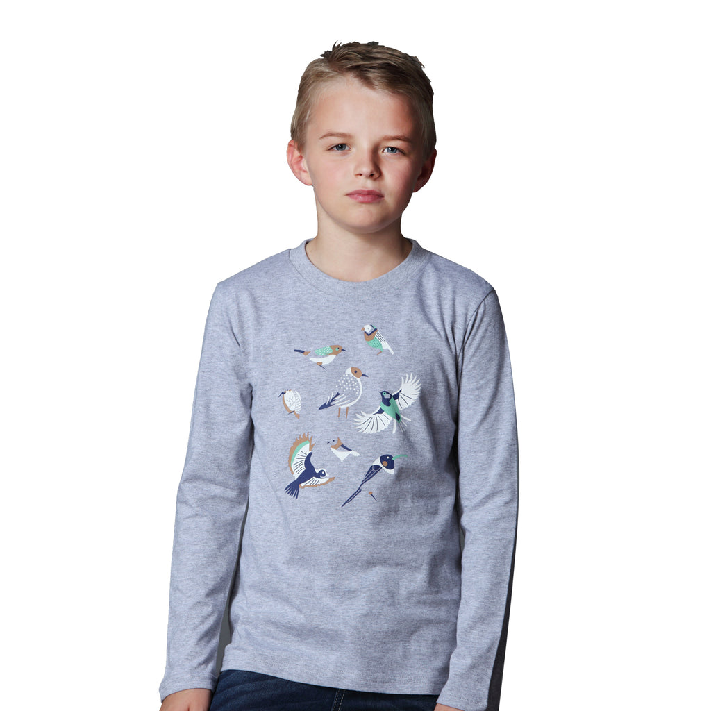 LEO&LILY Little Boys Long Sleeve Crew-Neck Pullover T-Shirt Undershirt LLB3531