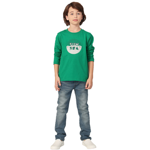 LEO&LILY Big boys Long Sleeves Fashion Casual Jersey Graphic T-Shirt LLB3A10