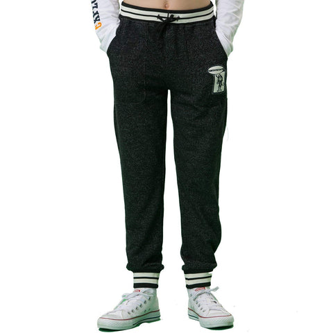 LEO&LILY boys Sports Fleece Husky Rib Waist Pants Joggers Trousers LLB409
