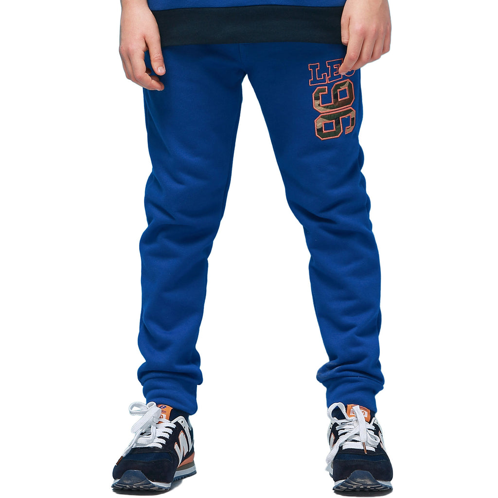 LEO&LILY Boys Sports Fleece Elastic Waist Husky Joggers Pants Trousers LLB422