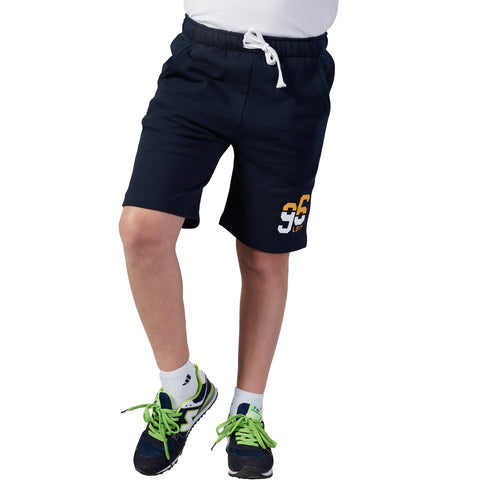 LEO&LILY Boys Regular Fit  Elastic Waist Activewear Knitting Jogger Shorts LLB577
