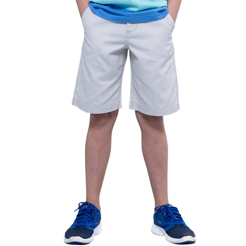 LEO&LILY Boys Kids Casual Cotton Poplin Cargo Short LLB572