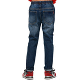 LEO&LILY Boys Husky Waist Regular Fit Thin Jeans Pants Trousers LLB633