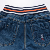 LEO&LILY Boys Kids Elastic Waist Regular Fit Stretch Denim Jeans LLB643