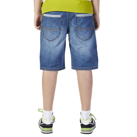 LEO&LILY Big Boys Kids Husky Waist Casual Denim Shorts Jeans LLB784