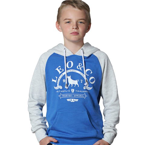 LEO&LILY Big Boys Fleece Tracksuit Hoodie W Husky Pants Set LLB876S