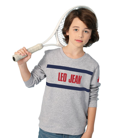 LEO&LILY Big Boys Kids Sports Fleece Sportswear Pullover LLB8A05