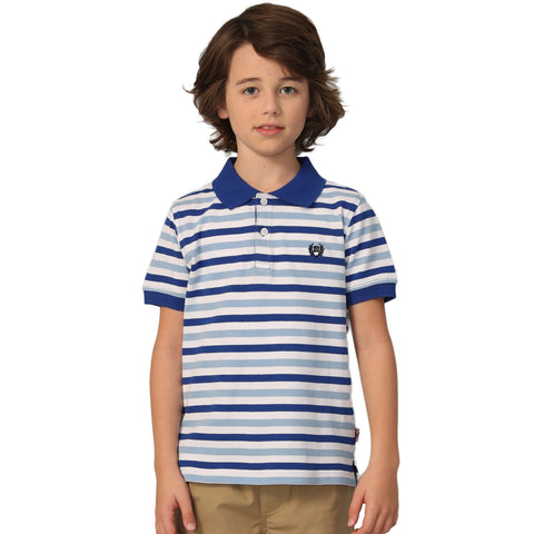 LEO&LILY Big Boys Short Sleeve Casual Rugby Polo Shirts LLB9A02