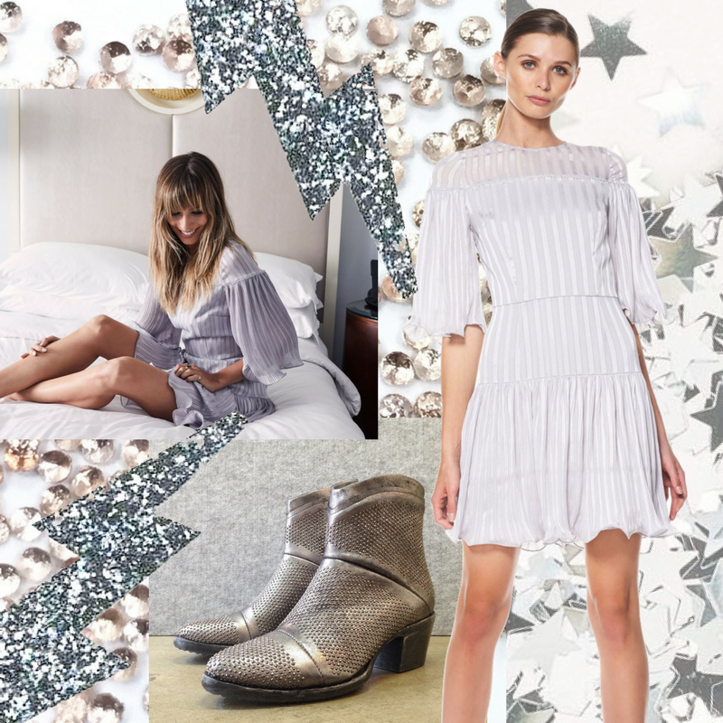 MOODBOARD: SILVER DREAMS / ONE DRESS TWO WAYS
