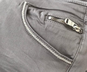 nelly gd pant mos mosh zip detail