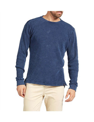 Academy Brand - Sycamore LS Crew in Navy