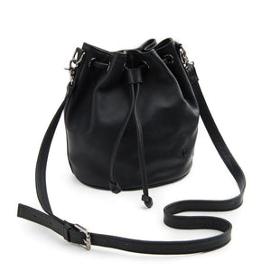 STITCH AND HIDE - Olivia Bucket Bag - Black