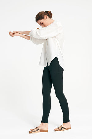 Layer'd - PONTE RIDING PANT in Pitch