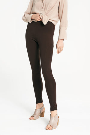 Layer'd - PONTE RIDING PANT in Espresso