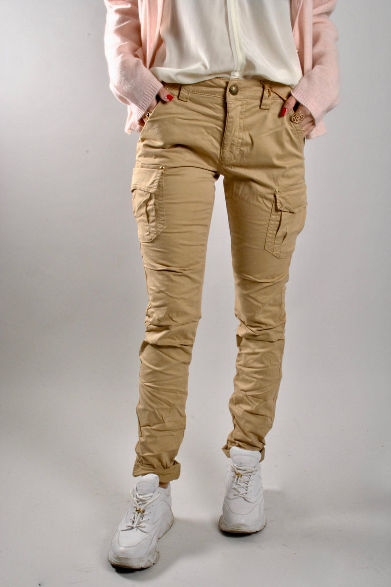 mos mosh cheryl cargo reunion pants in safari