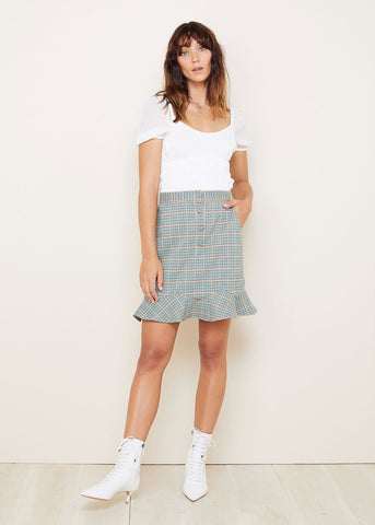THE EAST ORDER - RIVER MINI SKIRT