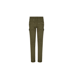 MOS MOSH - Cheryl Cargo Reunion Pant in Army Green