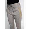 Fabia Jogger zhrill yellow herringbone cuffed sweatpant pocket zip