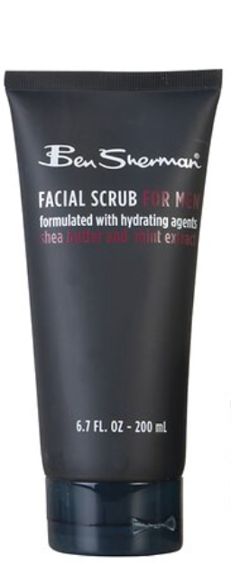 mens facial scrub individual 200ml