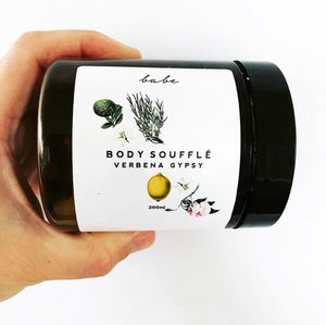 babe verbena gypsy body souffle cream