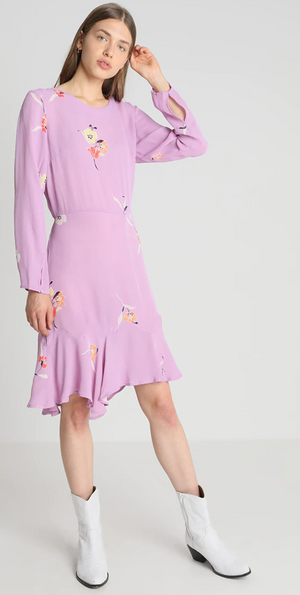 SECOND FEMALE - Lissa Dress in Fair Orchid