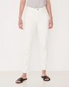 ASSEMBLY LABEL - HIGH WAIST RIGID JEAN OFF WHITE