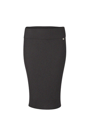 Mia Fratino - CLASSIC PENCIL SKIRT in Charcoal