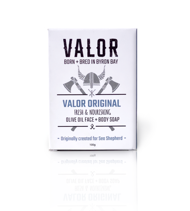 valor original soap for face and body natural