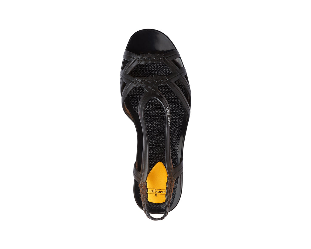 Lemon Jelly - MIAKI 01 Sandal Translucid Black