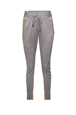 Fabia Jogger zhrill yellow herringbone cuffed sweatpant