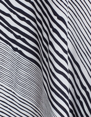 Grace Willow - Cassie Skirt in Black and White Stripe