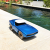 Playforever sonny muscle car blue with white roof black wheels