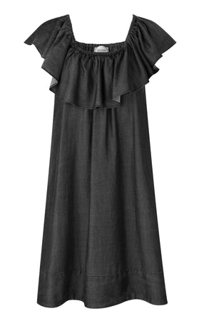 Second Female - Lilla Dress Charcoal