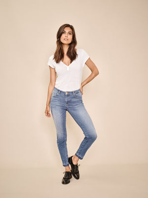 shop mos mosh sumner decor ankle jeans model online at hunterminx