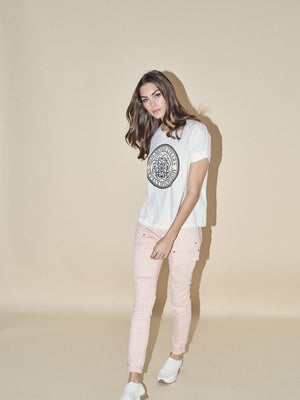 cheryl mos mosh cargo pant chintz rose hunterminx  full body