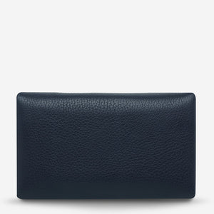STATUS ANXIETY - AUDREY - Navy Pebble
