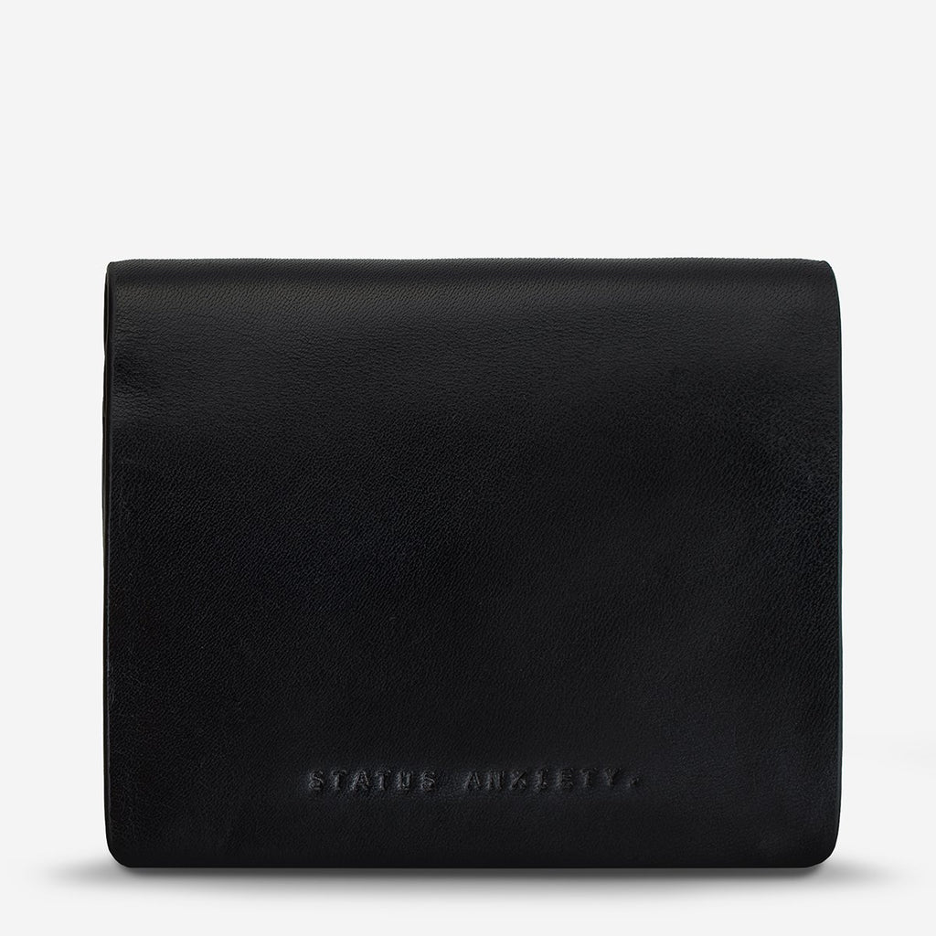status anxiety wallet nathaniel black front