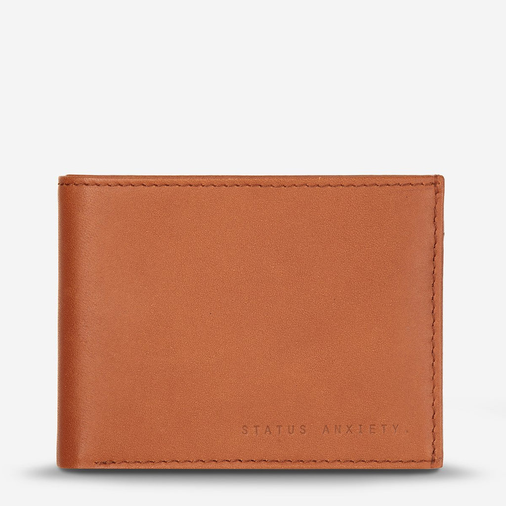 status anxiety wallet noah camel front