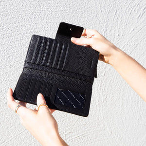 status anxiety wallet black ruins id slot